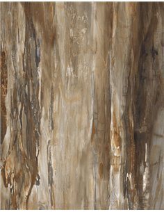 / Hi-Gloss (mirror coating) 120x60cm / ARTY BROWN / R9 / 6 faces / EUEF-2302