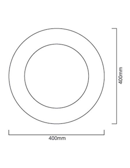 CASSINI RADIUS 3000K 400MM EMERGENCY