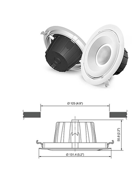 4S LED SPOT Downlight