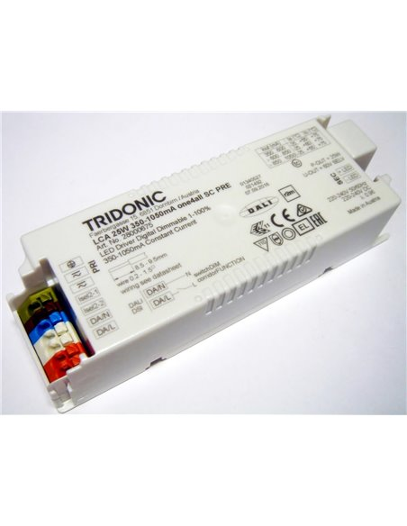 LCA 25 W 350–1050 mA one4all SC PRE - Tridonic