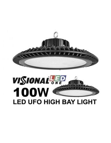 LED UFO 100W VISIONAL ONE 12500 lumen / 4000K / IP66 / IK08 / LED Освещение для складов, холлов, спорт-залов / LED HIGH BAY / 47