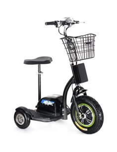 Made in Latvia. SUPER SALE !!! Electric Trike Black (VSS-3425) or White (VSS-3432) Powerful Battery / 350W