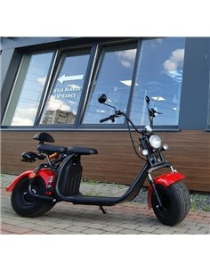 Электро мотоцикл 20Ah / Trike / harley style / citycoco / smart city / city bike / 1500W / 50 KM/H / 18 collas