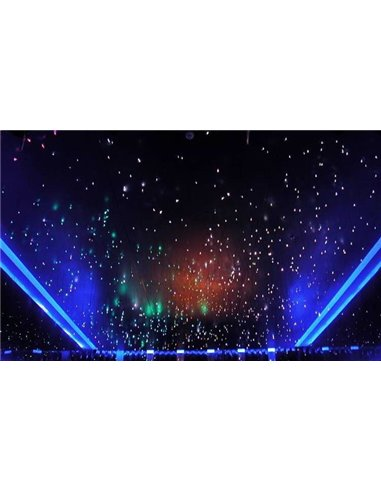 LED Starry Sky. 450 LED RGB Diodes Multicolor. To width from 1-6m2
