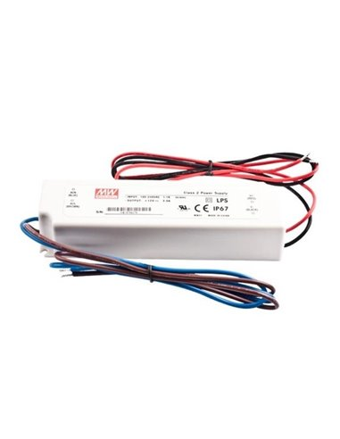 Импульсный блок питания LED 12V 3A 36W IP67 Mean Well