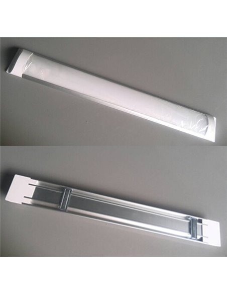 LED Dimmable Linear Luminaire 40W with DALI Control Unit / 120cm x 2.5cm / 4000 lumen / LED Suspended Luminaire
