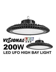 LED UFO VISIONAL ONE / 200W / 25000 lumen / 4000K / IP66 / IK08 / LED Освещение для складов, холлов, спорт-залов / LED HIGH BAY