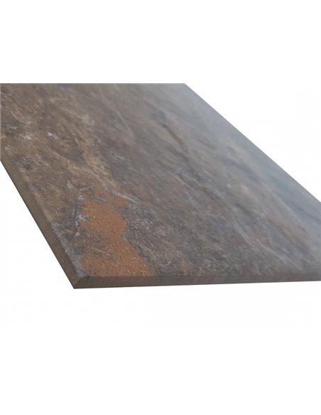 Frosted Universal Stone Tiles 30x60cm / Stone Mass 300x600mm / RAJASRHAN BLACK PW / WS-430743