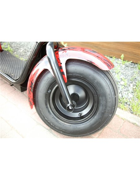 New! Electro Motorcycle Visional clasic / Trike / Harley Style / el Motorcycle / citycoco / smart city / city bike / electro