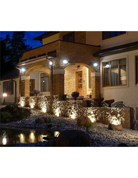 SUPER SHOP / VISIONAL PREMIUM LED Outdoor Floodlight 150W / 18000lm / 4000k - 840 / BLACK / 70 ° / IP66 (Moisture Resistant) / N