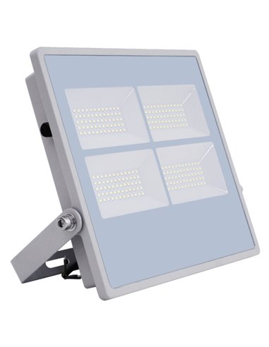SUPER SALE / VISIONAL PREMIUM LED Outdoor Floodlight 200W / 24000lm / 4000k - 840 / Gray / 120 ° / IP66 (Moisture Resistant) / N