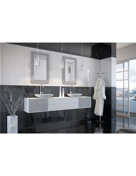 Glossy Wall Tiles 30x60cm Absolute Modern White / Absolute Modern White UEU-1019