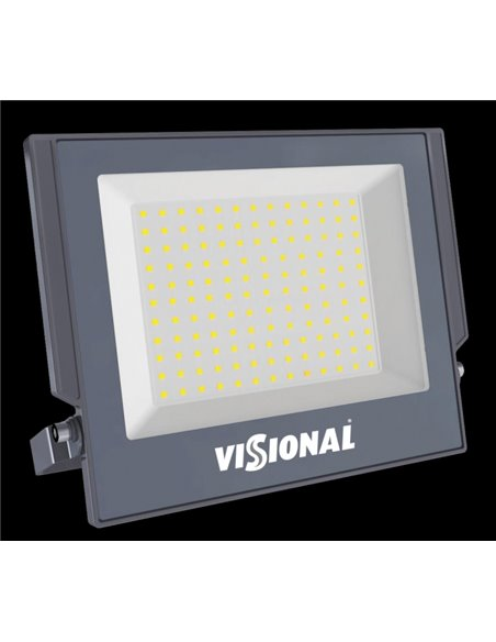 LED Outdoor Floodlight Visional Basic Line 150W / 16500LM / 4000K / IP66 / Product available for pre-booking