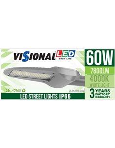 LED Уличный Фонарь 60W / 7800LM/ 4000K - 840 / IP65 / Товар доступен по предварительному заказу