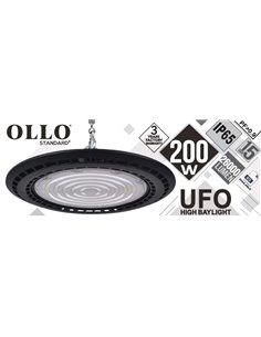 LED UFO 200W OLLO 26000 lumen / 4000K / IP65 / IK08 / LED Освещение для складов, холлов, спорт-залов / LED HIGH BAY /  475223300