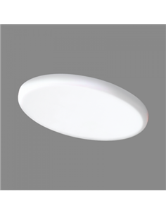 TOPE LED PANEL ROSA R 8W Ø100, 580lm.