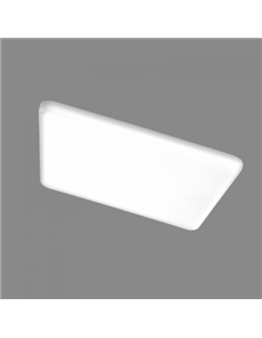 TOPE LED PANEL ROSA SQ 8W 100x100mm, 645lm.