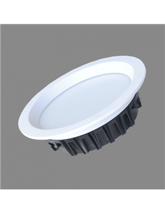 "TOPE LED DOWNL. ""BERN"" SET 3x4W, Ø100x40mm"