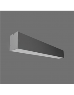 TOPE LED LUMIN. LIMAN 72W 232cm Grey