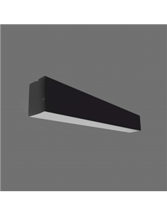 TOPE LED LUMIN. LIMAN 80W 232cm Black