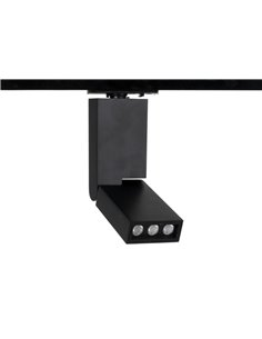 6W LÜBECK LED track light black