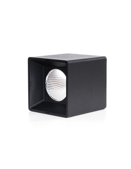 10W TRIER surface mounted black