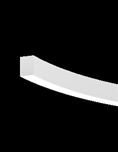 Wave C/S SOP 2050 lm 20 W 840 R1500mm-45° FO IP20 silver aluminium